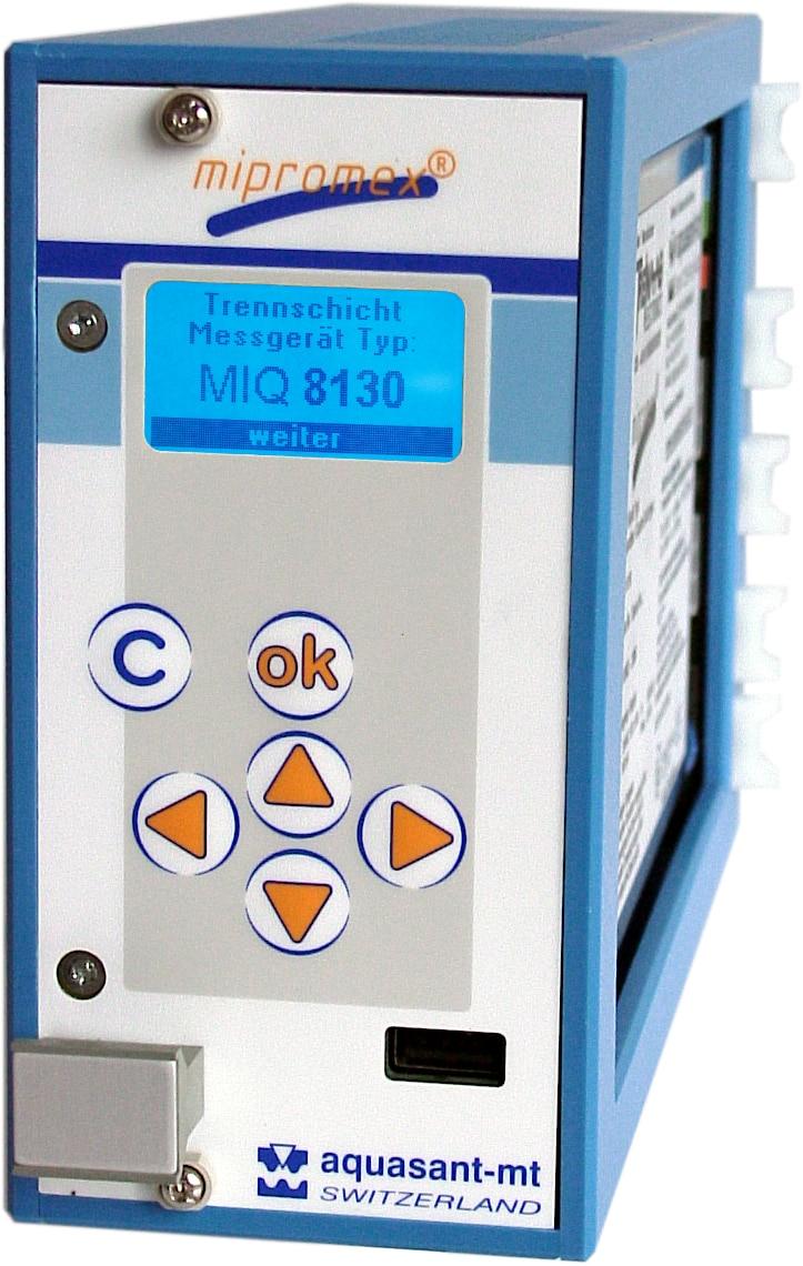 Aquasant Trennschichtmessgerät mipromex MIQ 8xxx