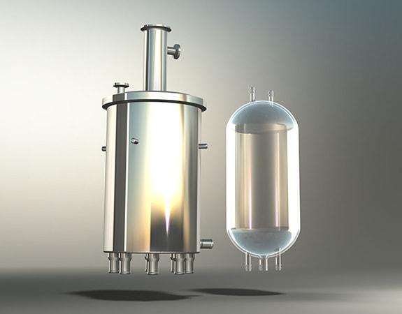 Aquasant Glas-Vorlagegefäss Typ: GF