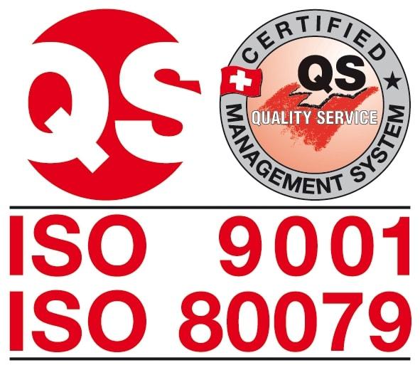 Logo QS Zürich ISO9001