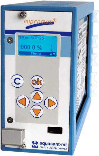 Aquasant Auswertegerät mipromex MLS, MAT, MIQ, MIL, MLT, MPR