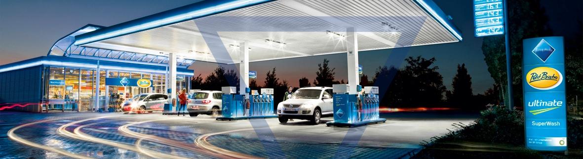 Abfüllsicherungen für Tankstellen