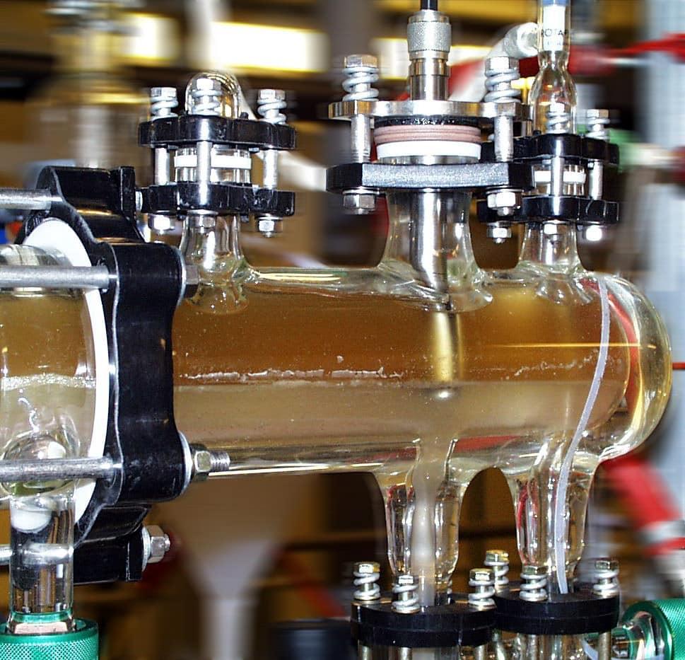 Aquasant Trennschicht-Sonde im Mixer Settler