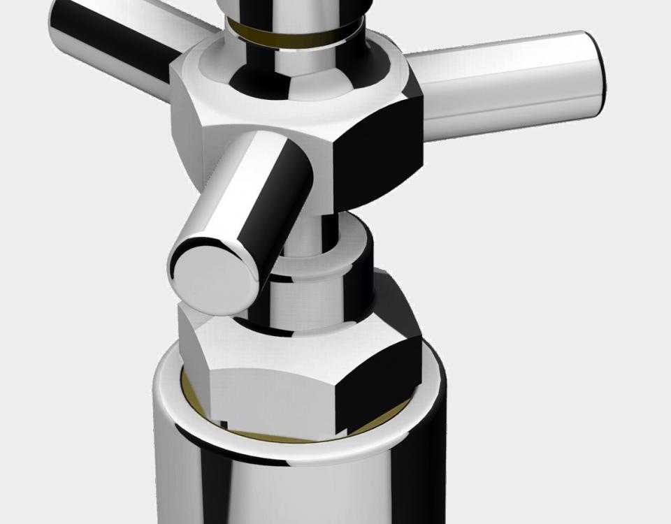 Glasgefaess Reinigungssprueher CIP von Aquasaant