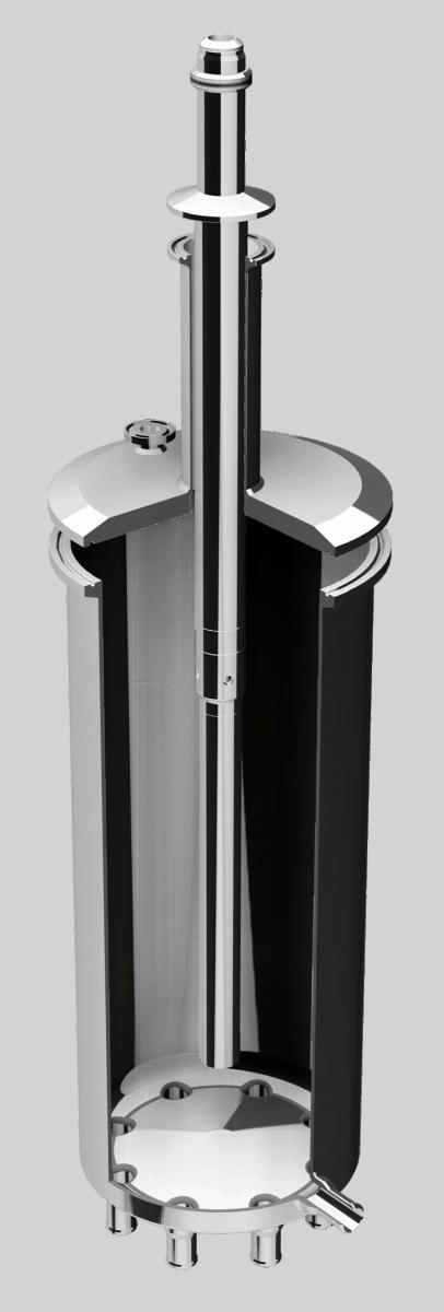 Stahlgefaess-mit-ST3L-Sonde von Aquasant